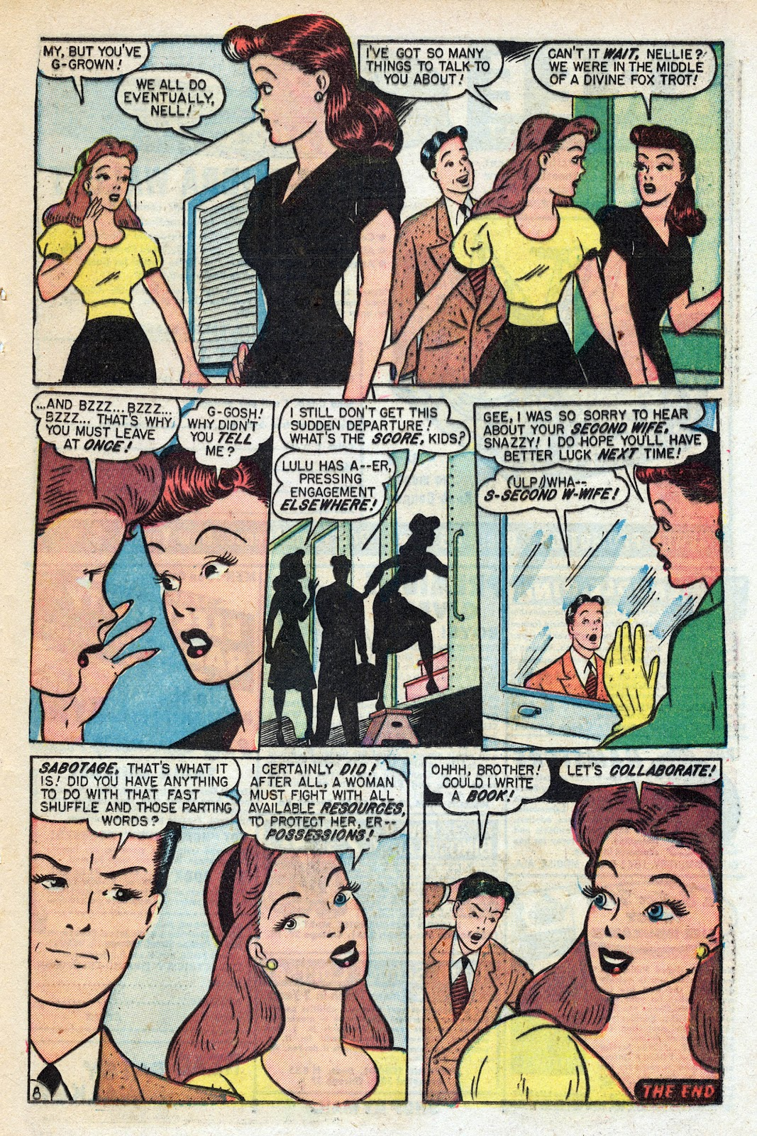 Read online Nellie The Nurse (1945) comic -  Issue #17 - 35
