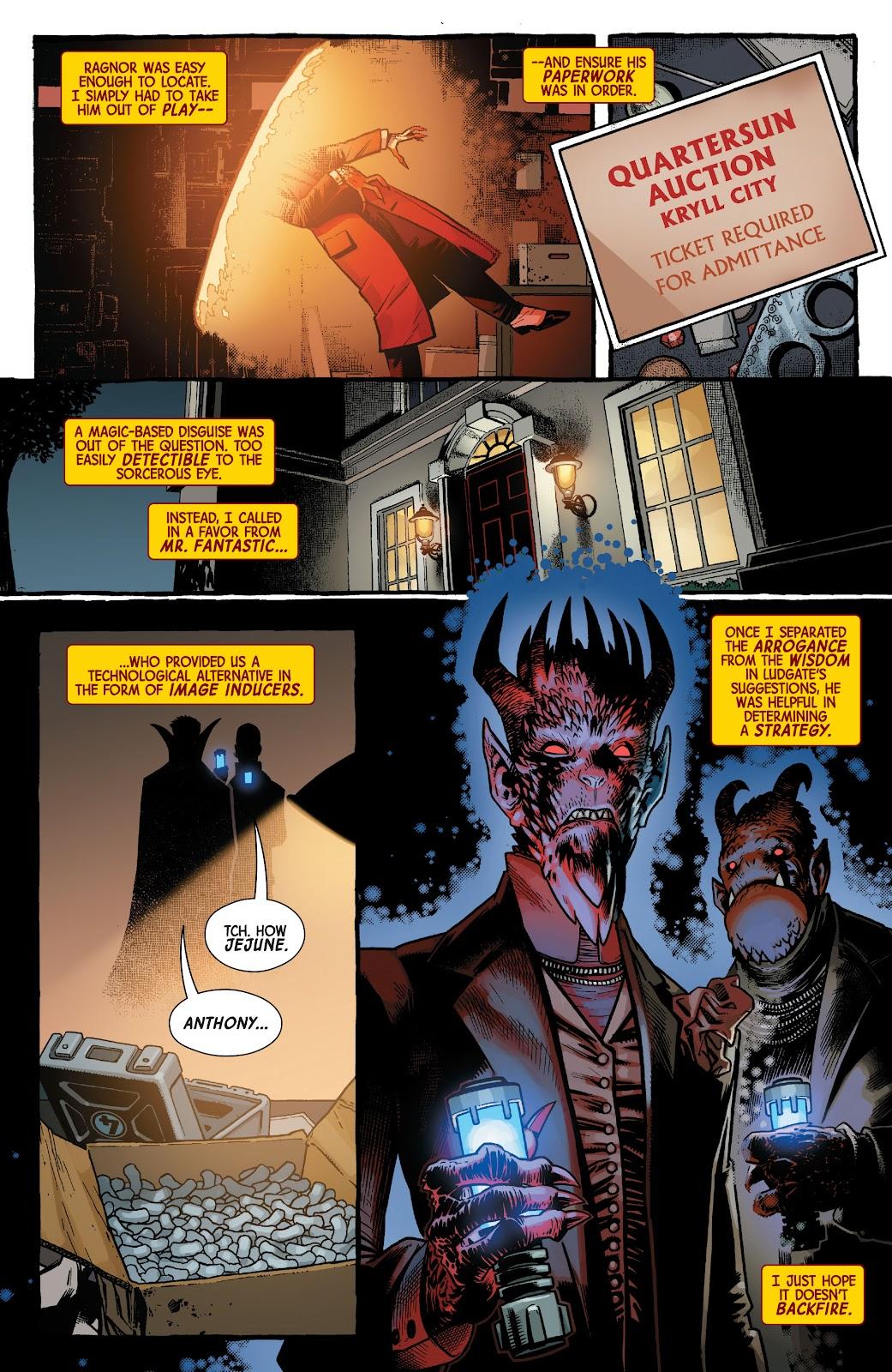 Read online Dr. Strange comic -  Issue #5 - 15