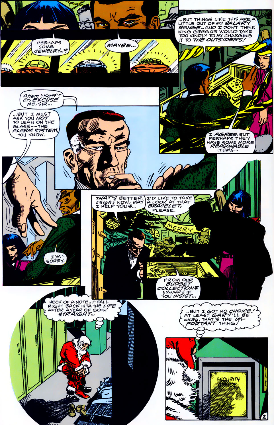Read online Adventures of the Outsiders comic -  Issue #43 - 23