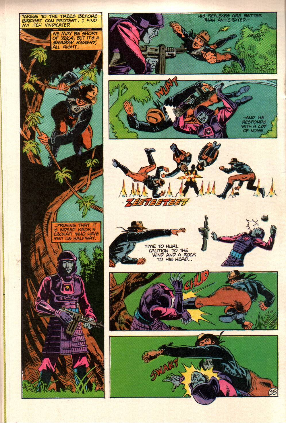 Read online Aztec Ace comic -  Issue #10 - 15