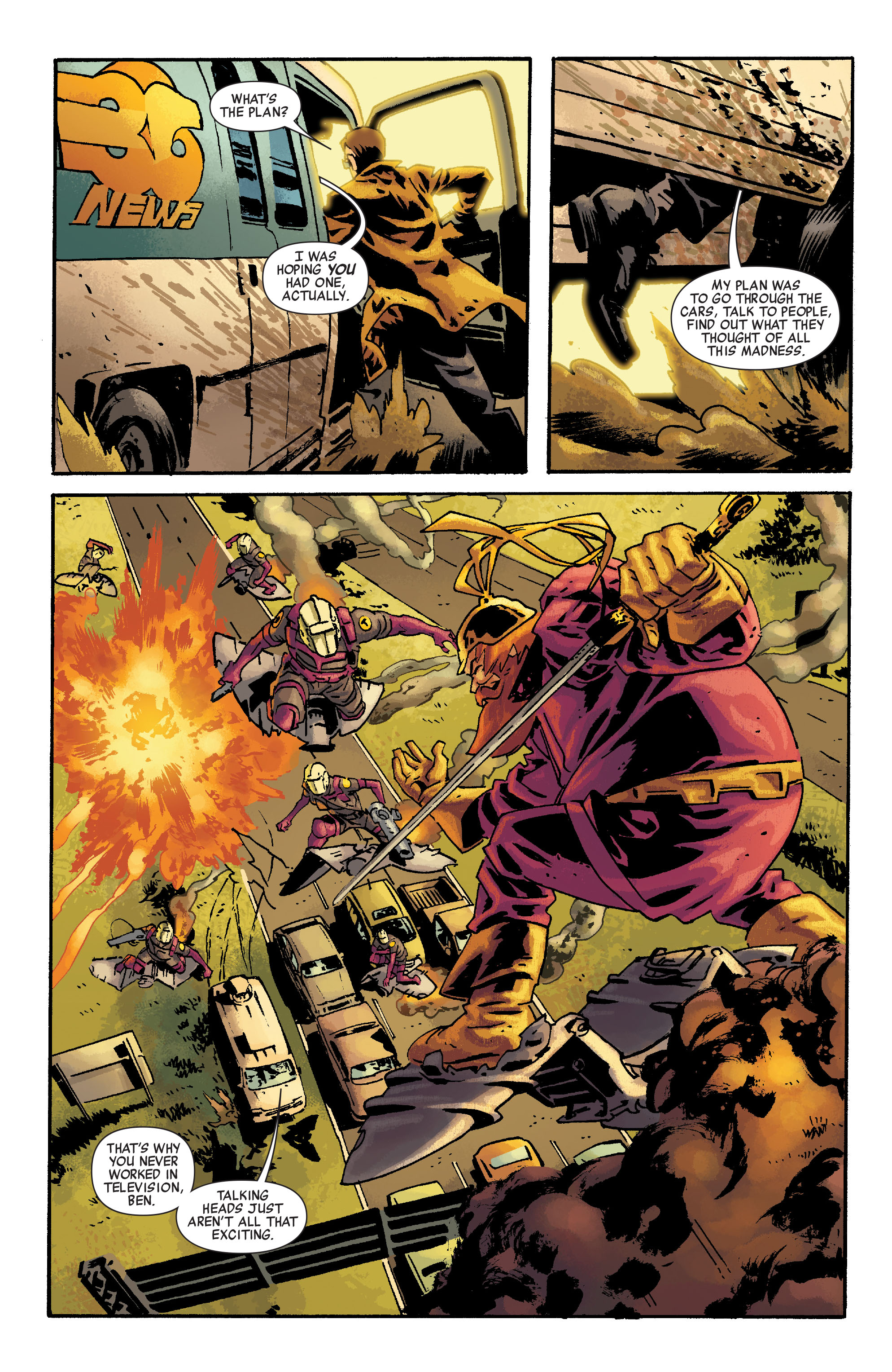 Read online Siege: Embedded comic -  Issue #2 - 19