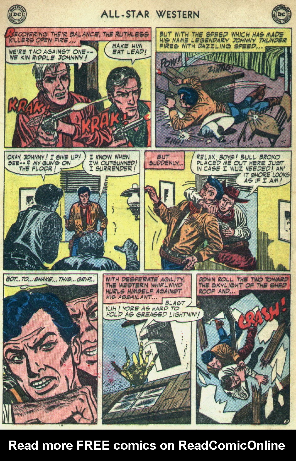Read online All-Star Western (1951) comic -  Issue #79 - 5