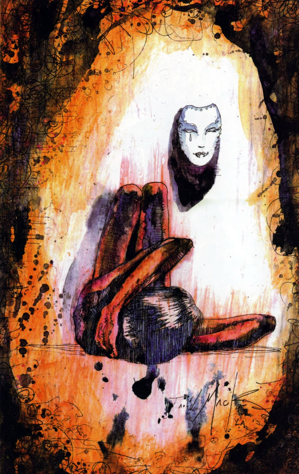 Read online Kabuki: Reflections comic -  Issue #1 - 16