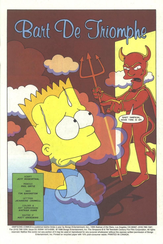 Read online Simpsons Comics comic -  Issue #23 - 2