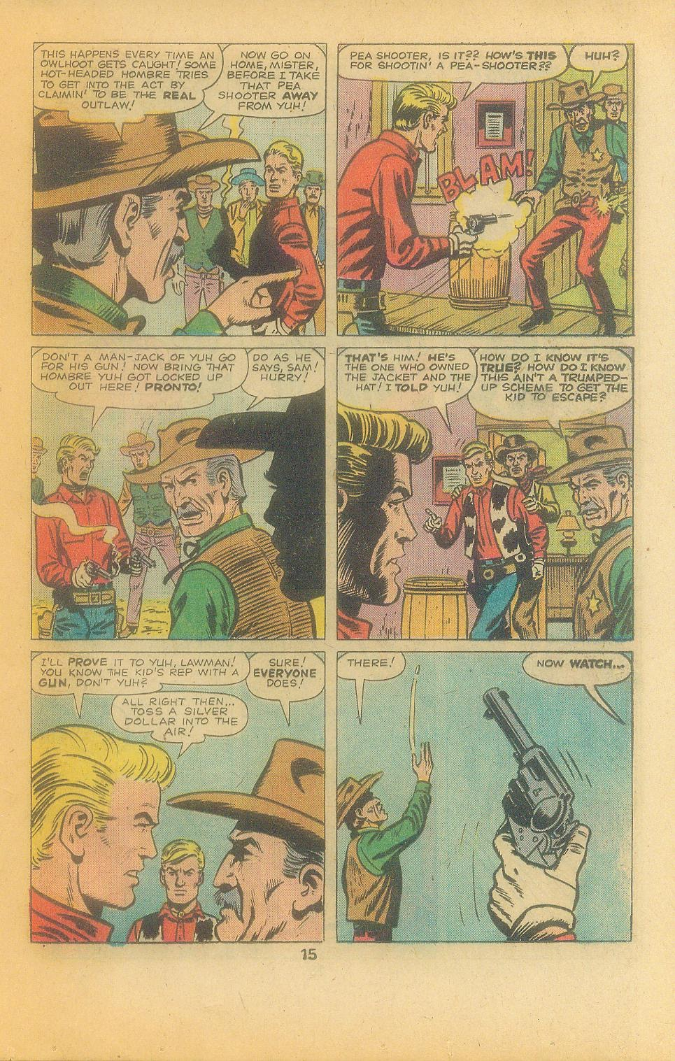 Kid Colt Outlaw issue 197 - Page 17