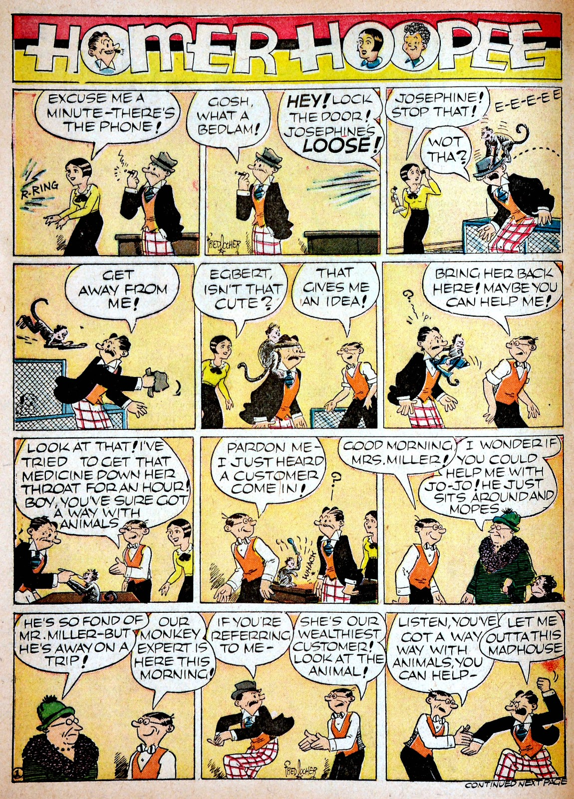 Read online Famous Funnies comic -  Issue #68 - 60