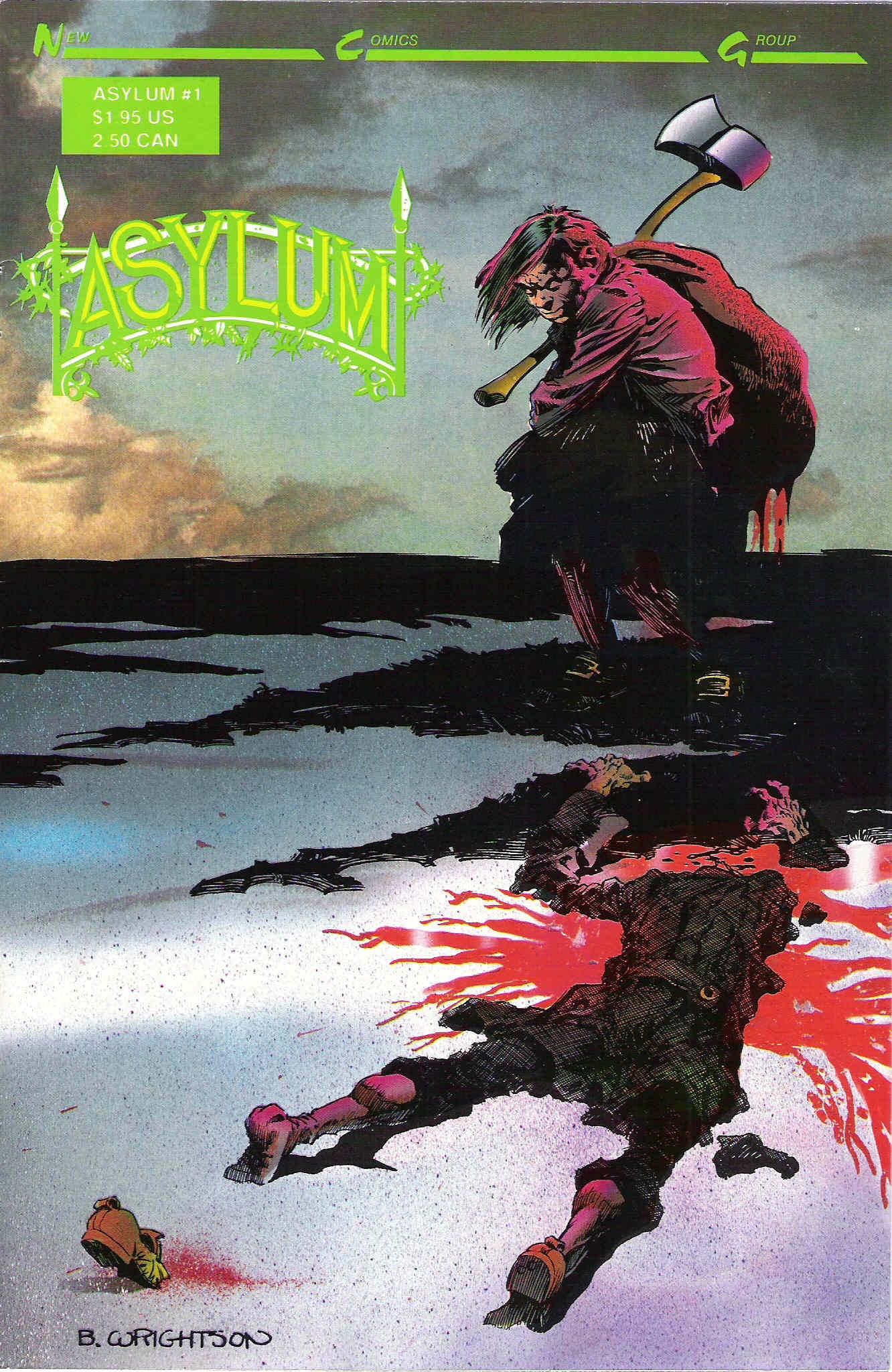 Asylum (1989) issue 1 - Page 1