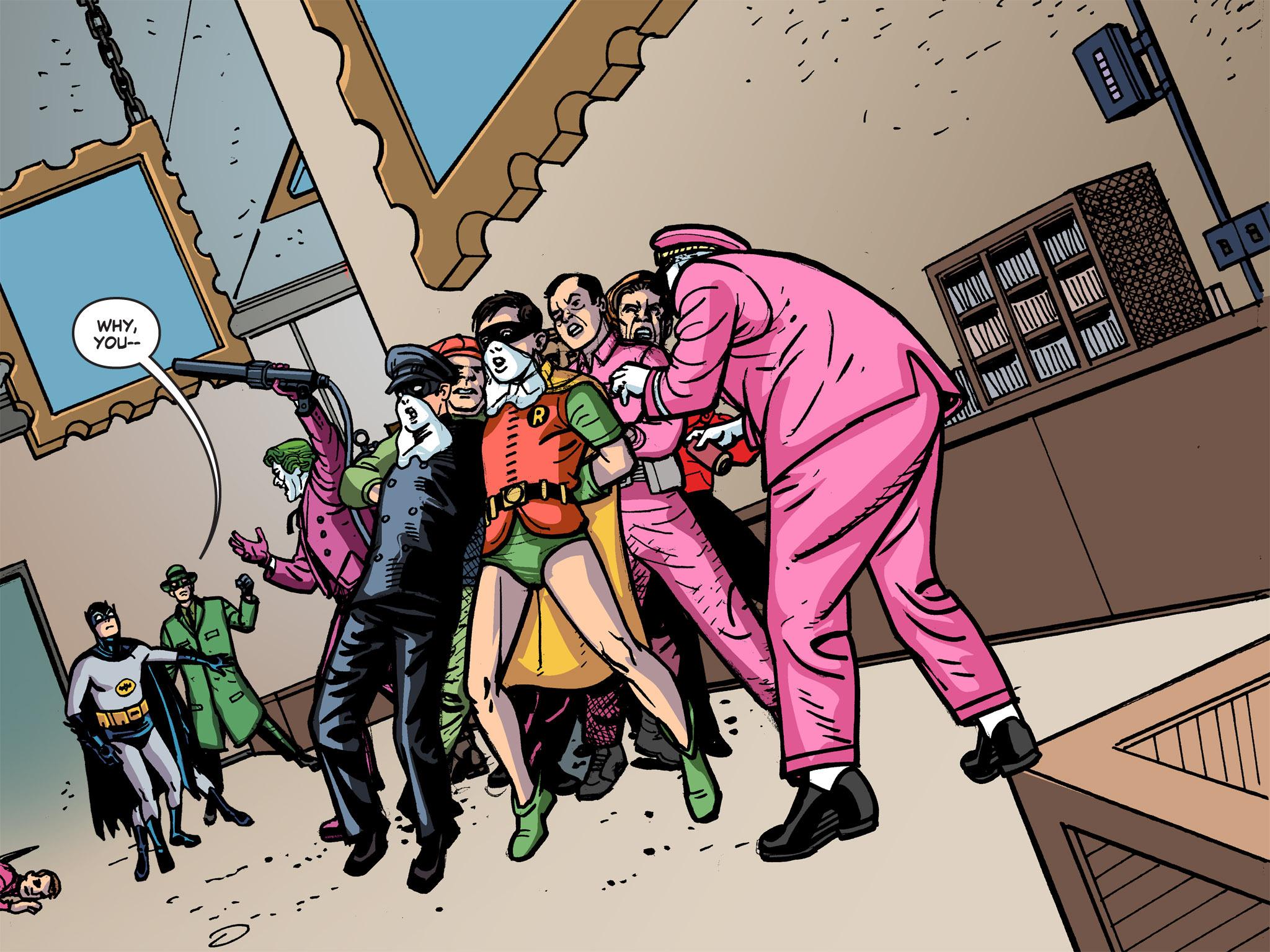 Read online Batman '66 Meets the Green Hornet [II] comic -  Issue #5 - 2