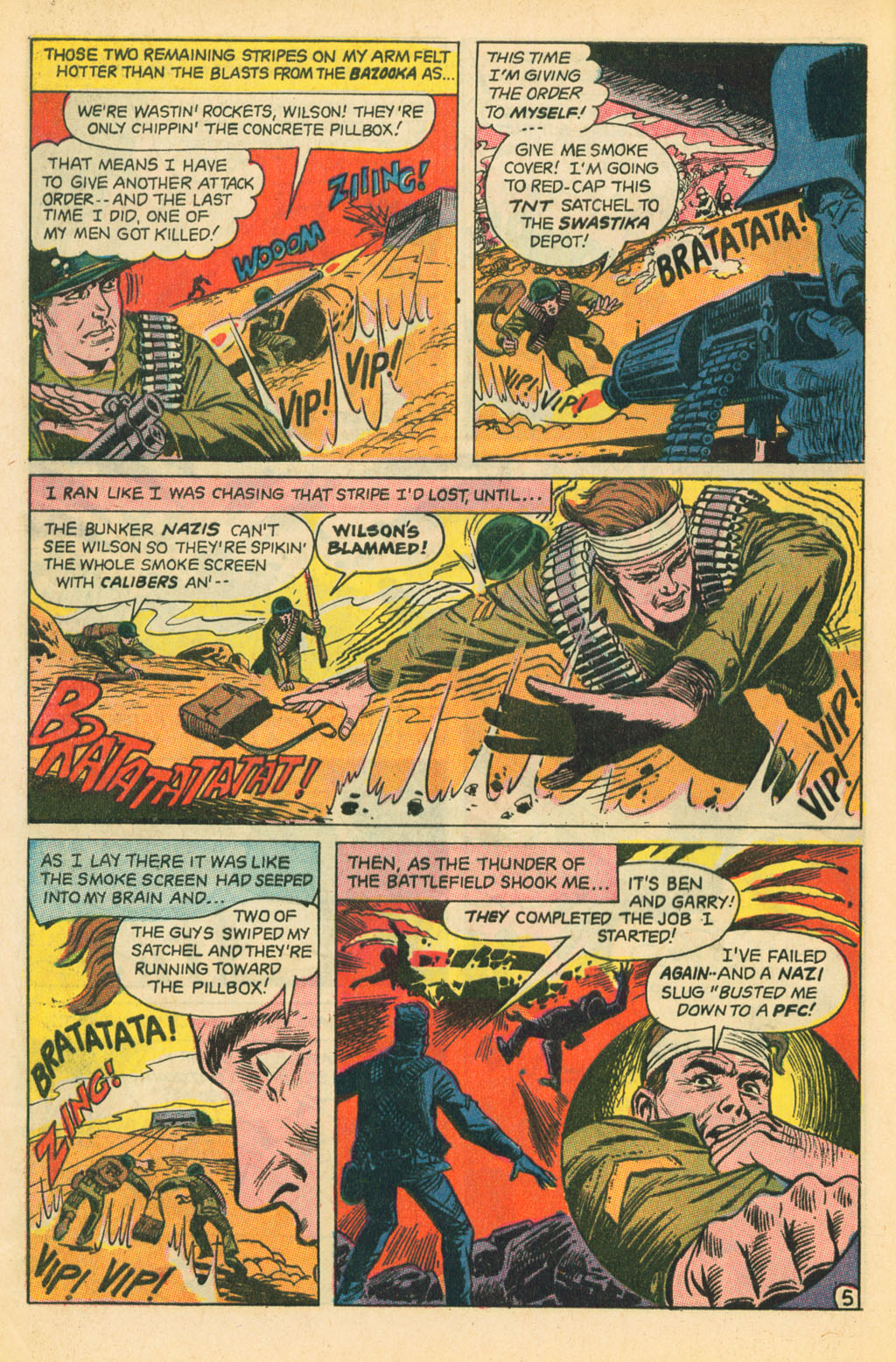 Our Fighting Forces (1954) issue 110 - Page 28