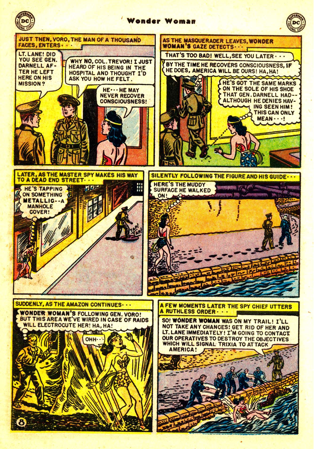Read online Wonder Woman (1942) comic -  Issue #50 - 10