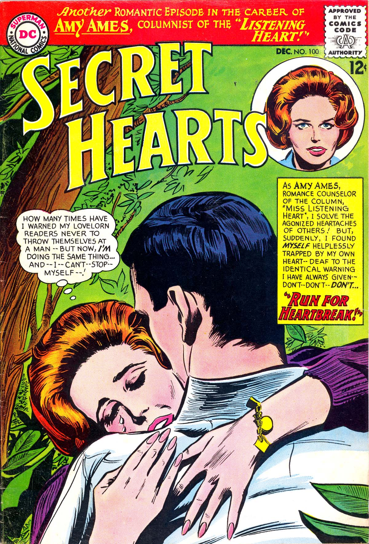 Read online Secret Hearts comic -  Issue #100 - 1