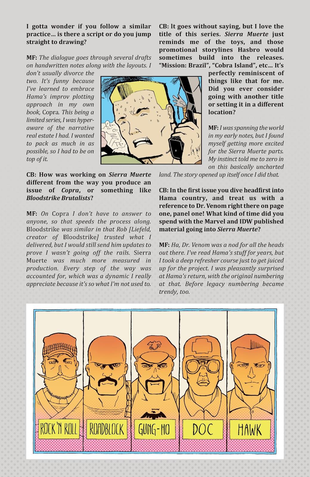 Read online G.I. Joe: Sierra Muerte comic -  Issue #3 - 29