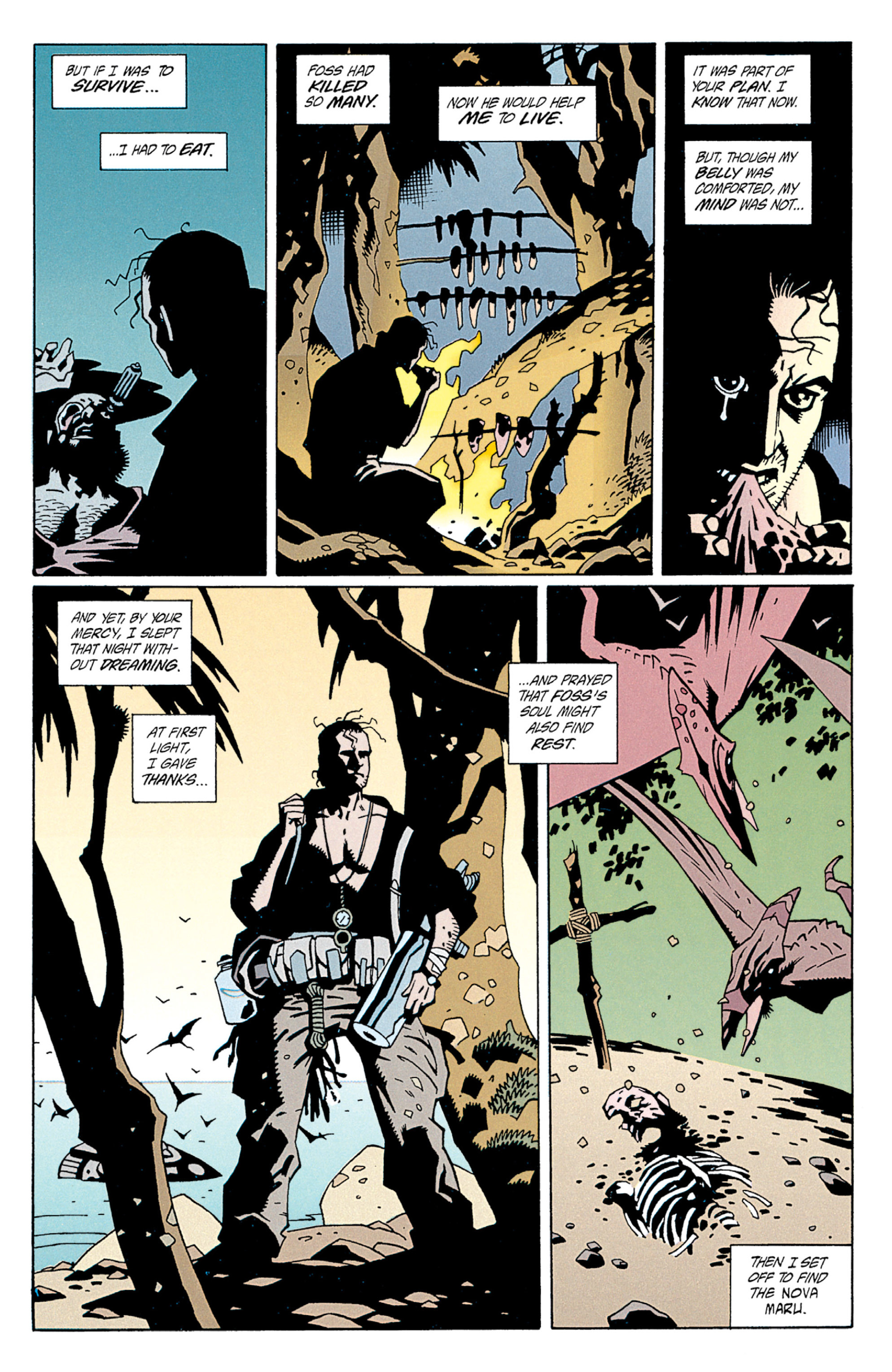 Read online Aliens: Salvation comic -  Issue # TPB - 22