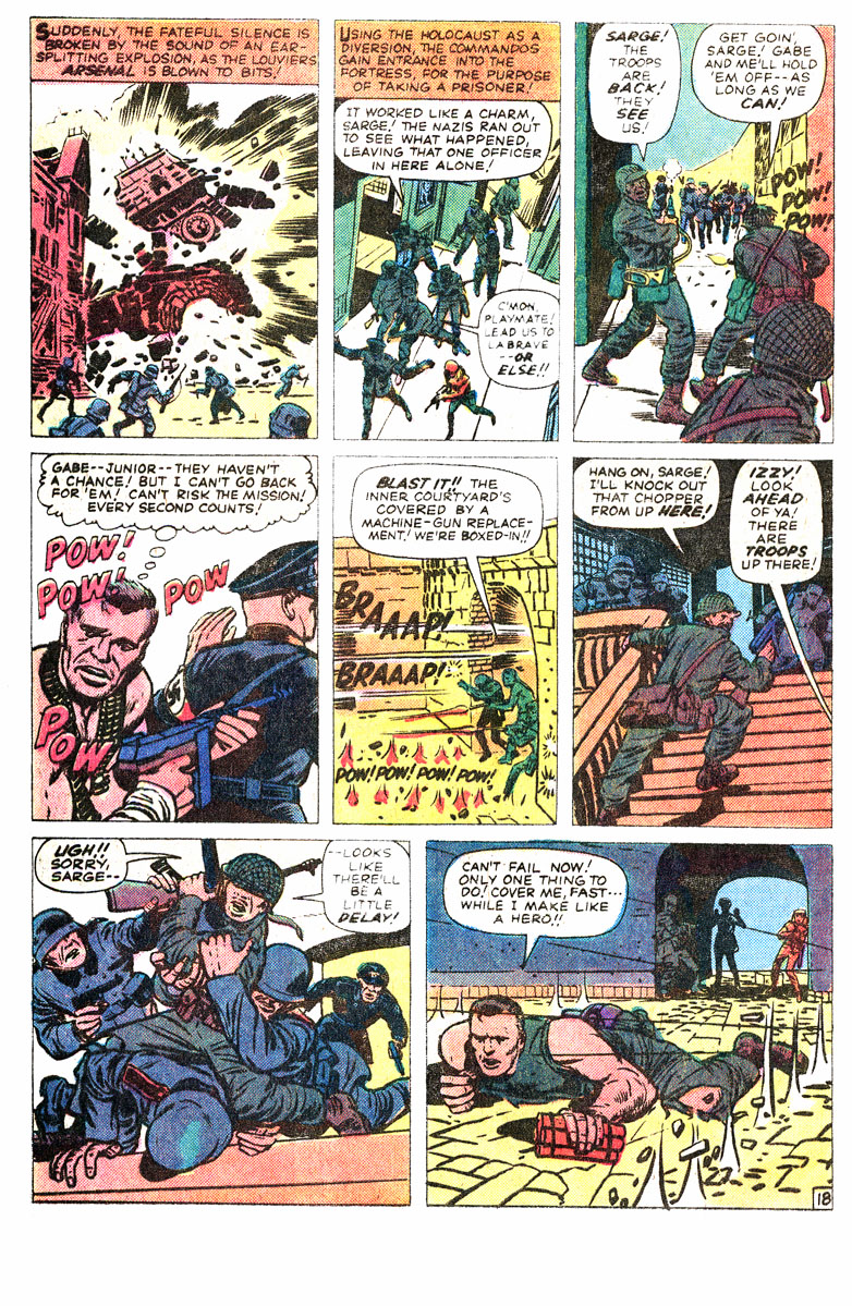 Read online Sgt. Fury comic -  Issue #167 - 29
