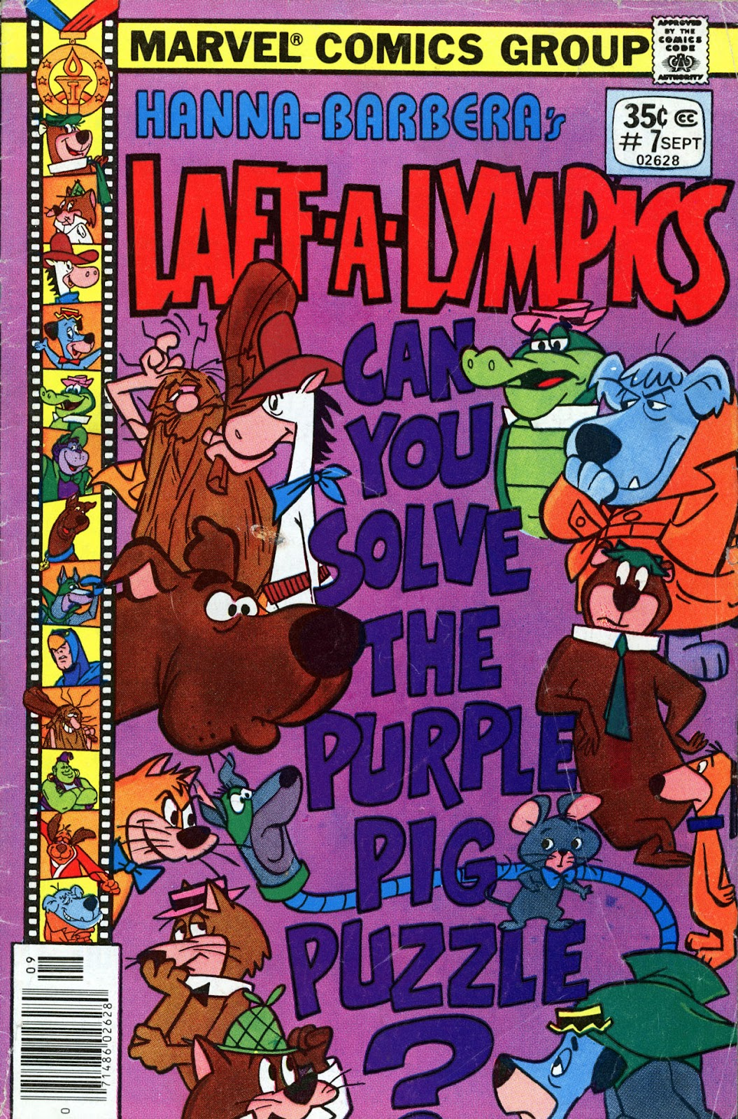 Laff-a-lympics issue 7 - Page 1