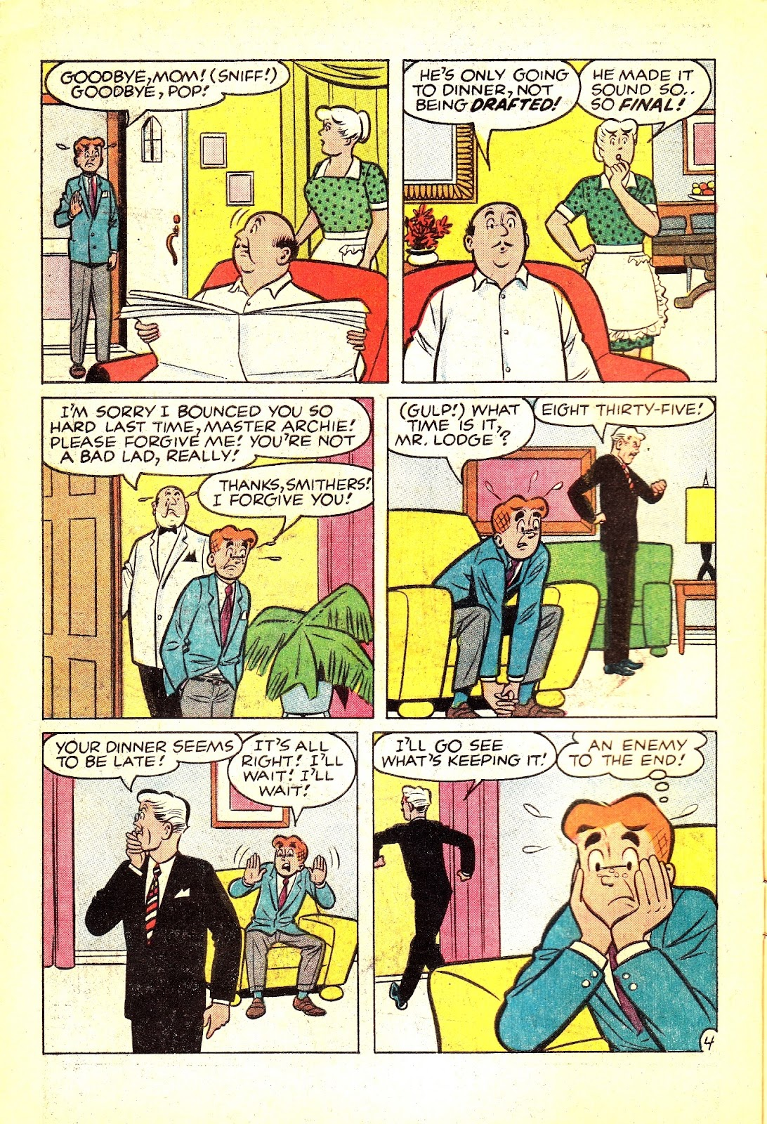 Read online Archie (1960) comic -  Issue #165 - 6