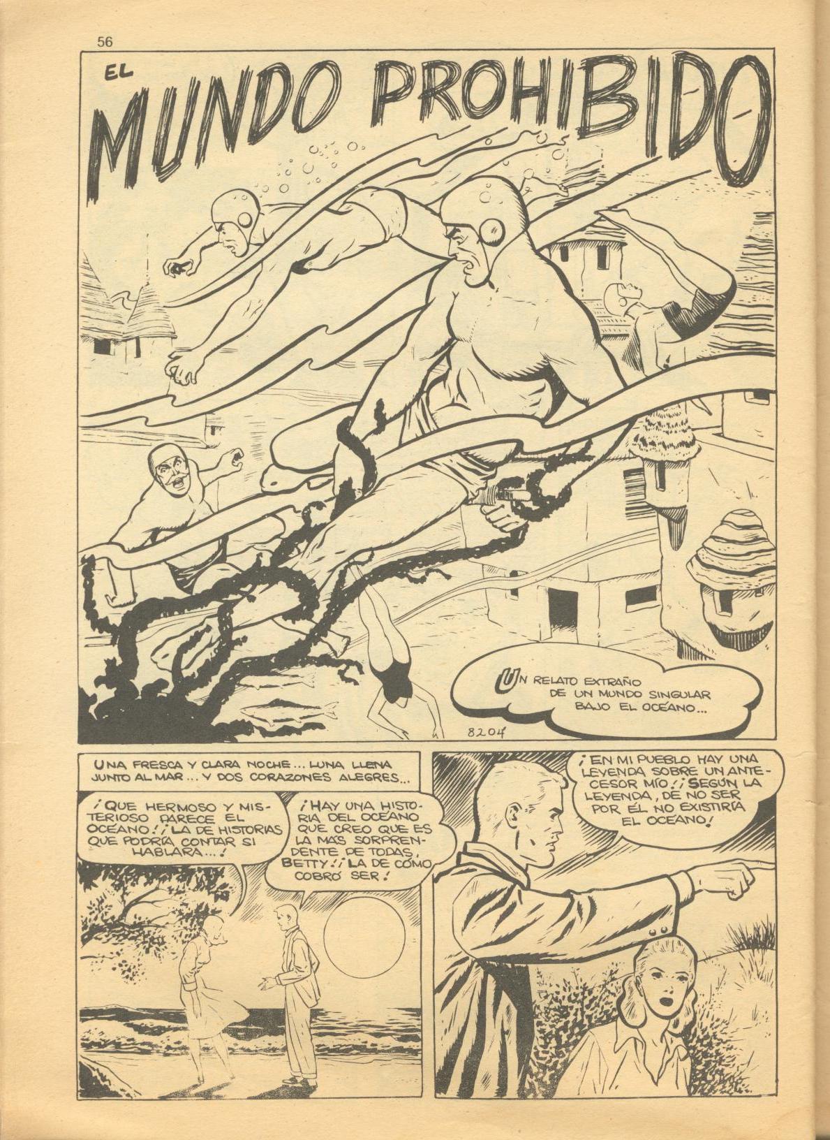 Read online Adventures into Weird Worlds comic -  Issue #1 - 20