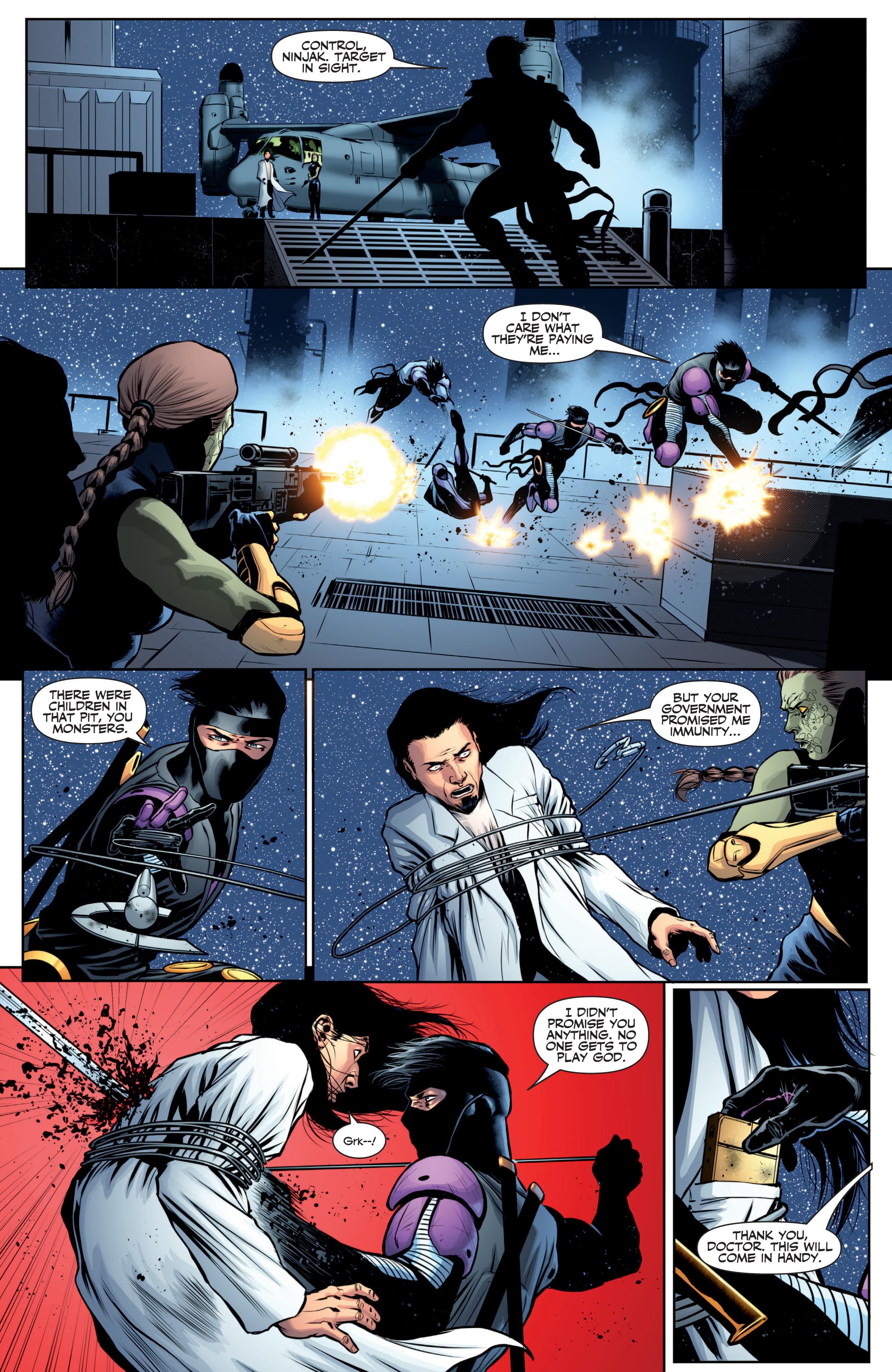 Read online Ninjak (2015) comic -  Issue #27 - 20