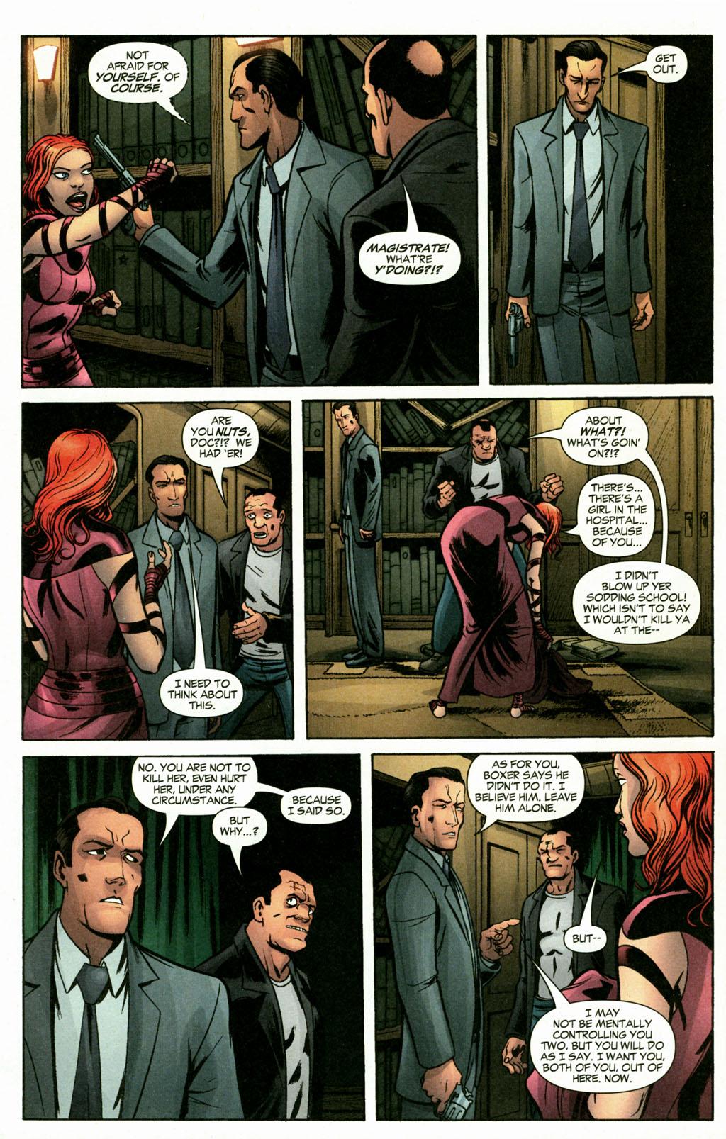 Read online Fallen Angel (2003) comic -  Issue #16 - 22