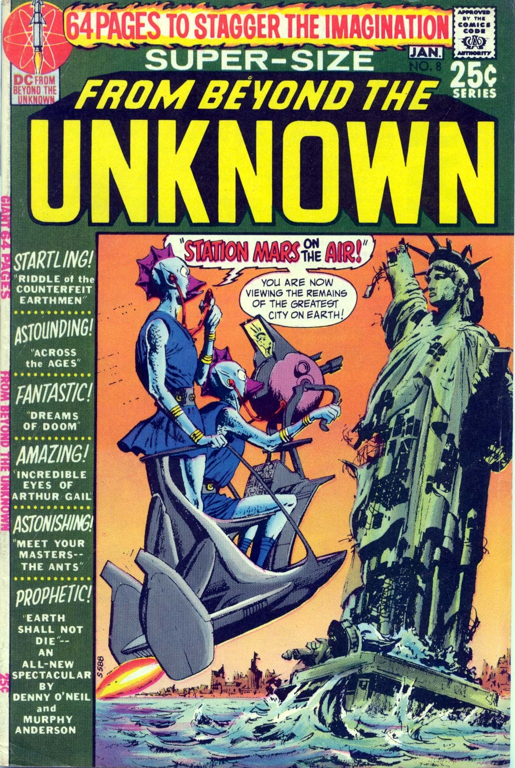 From Beyond the Unknown (1969) issue 8 - Page 1