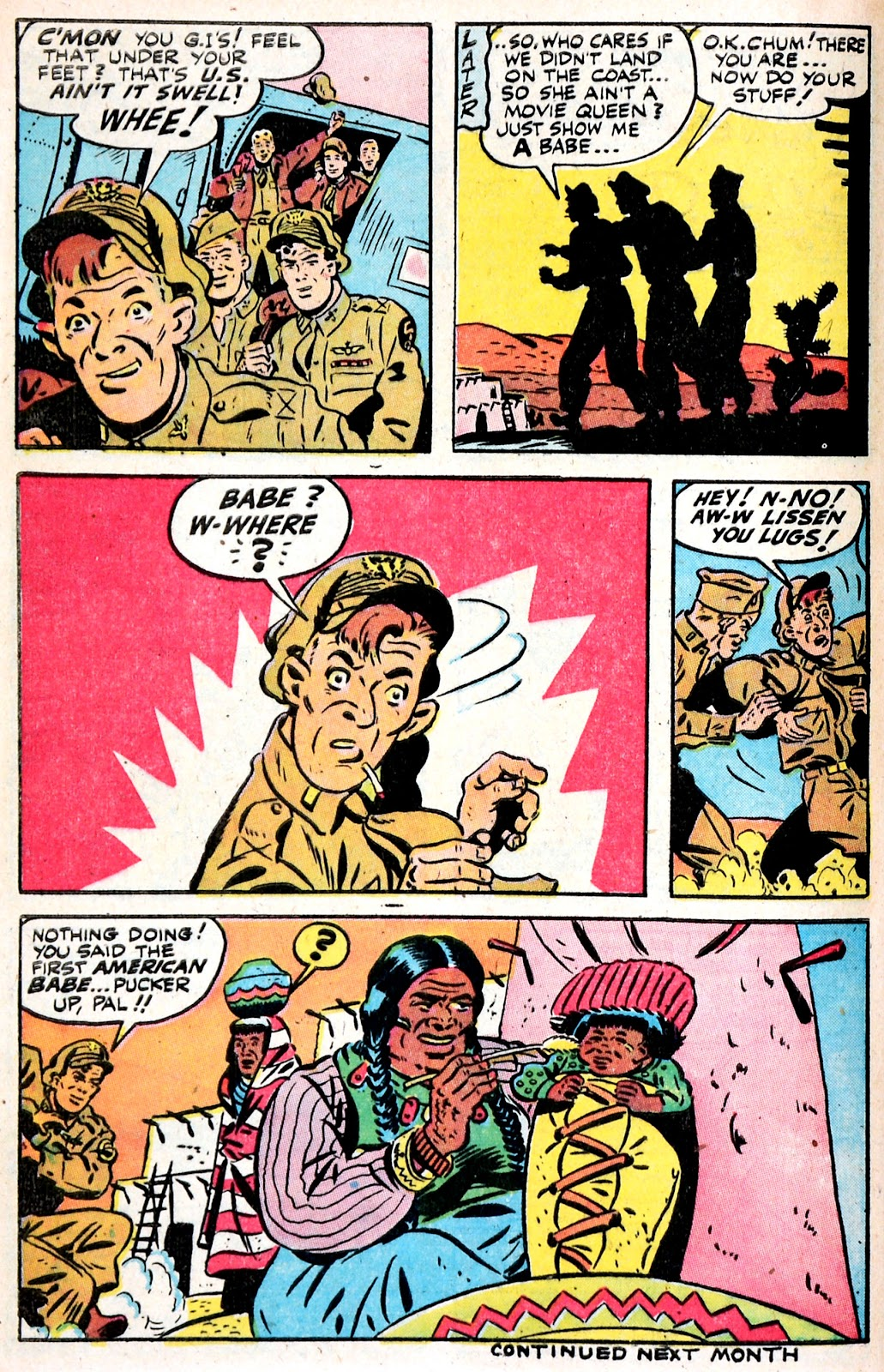 Read online Famous Funnies comic -  Issue #149 - 40