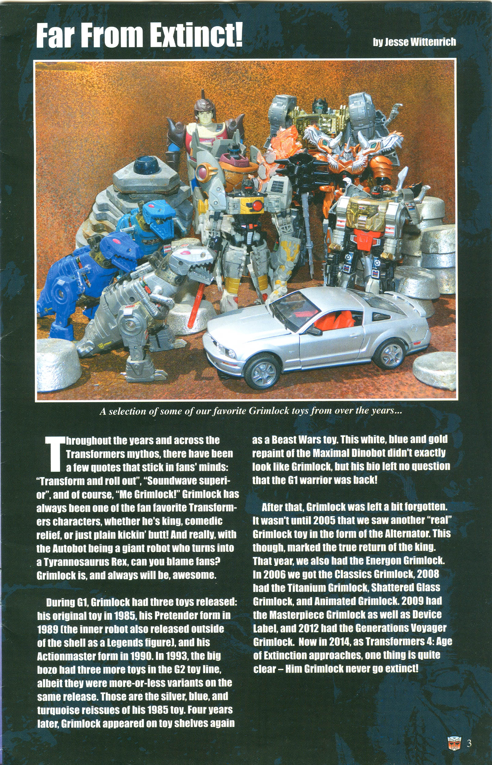 Read online Transformers: Collectors' Club comic -  Issue #57 - 3