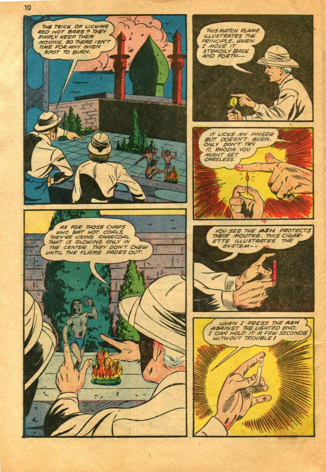 Read online Super-Magician Comics comic -  Issue #11 - 10