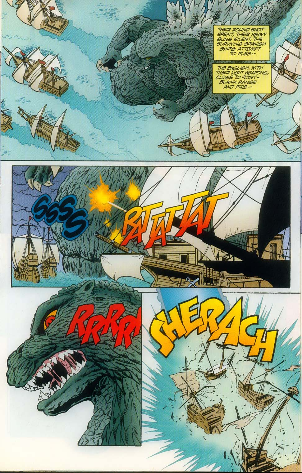 Godzilla (1995) Issue #10 #11 - English 20