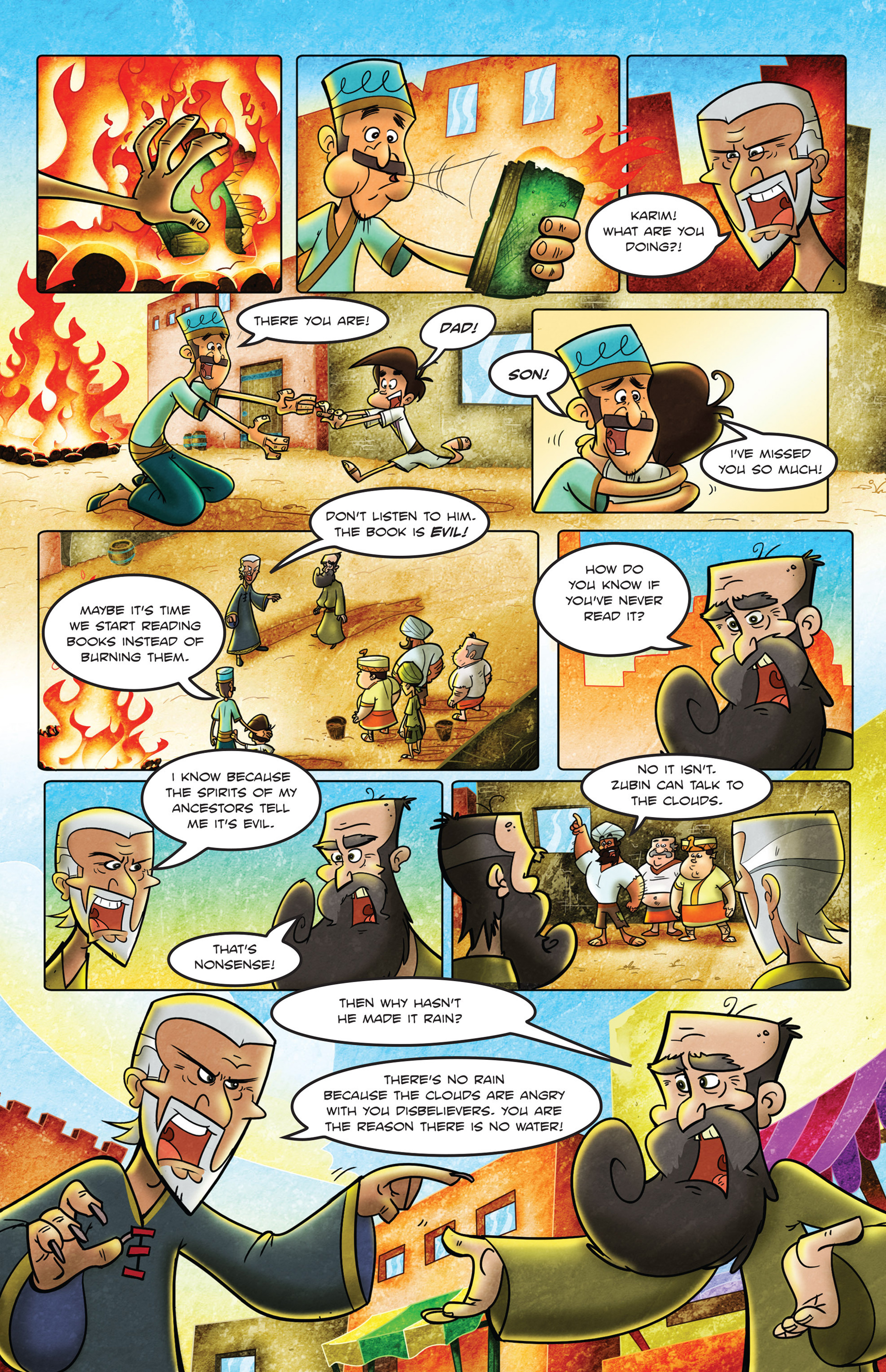 Read online 1001 Nights comic -  Issue #2 - 21