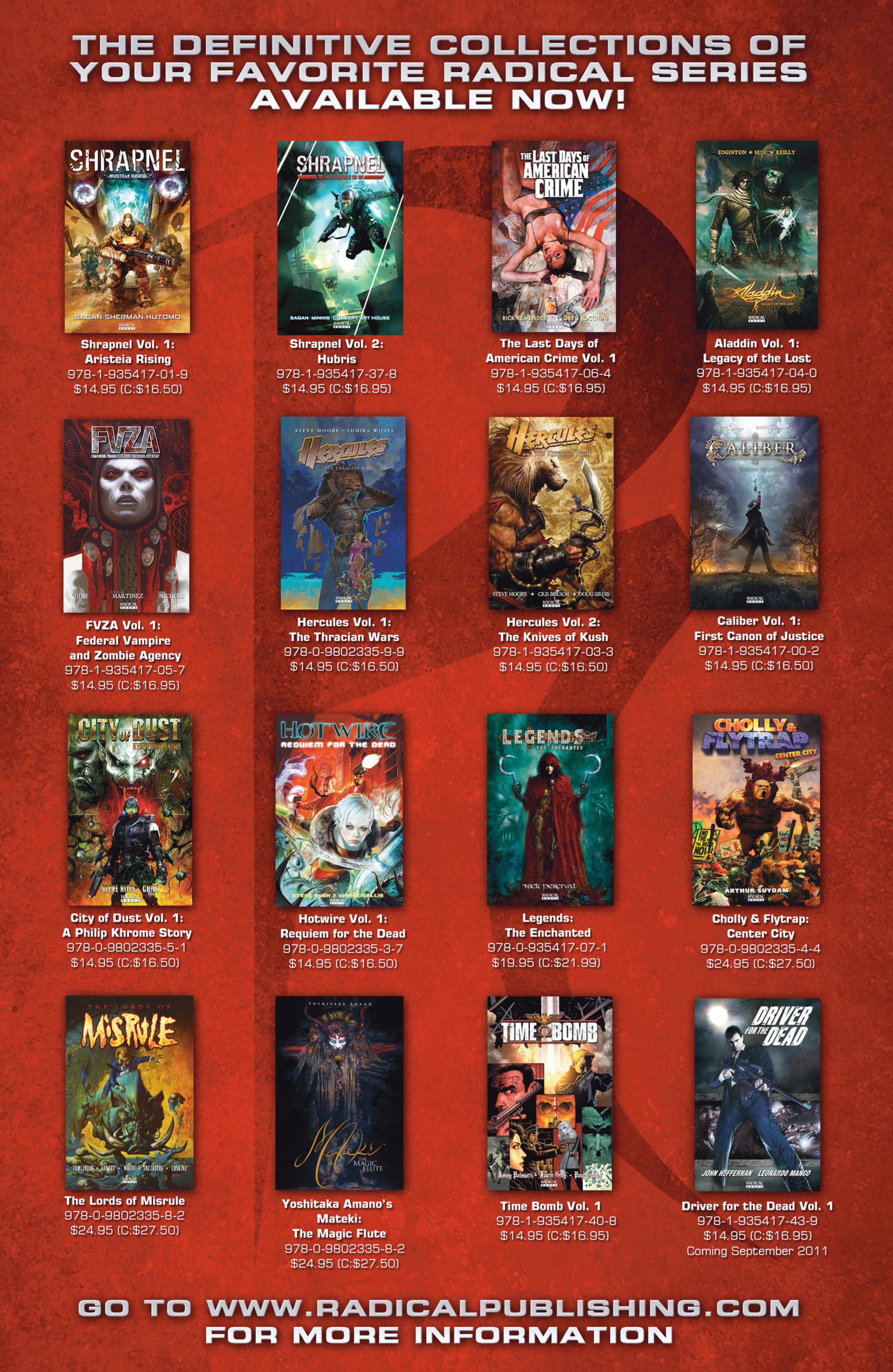 Read online Abattoir comic -  Issue #6 - 29