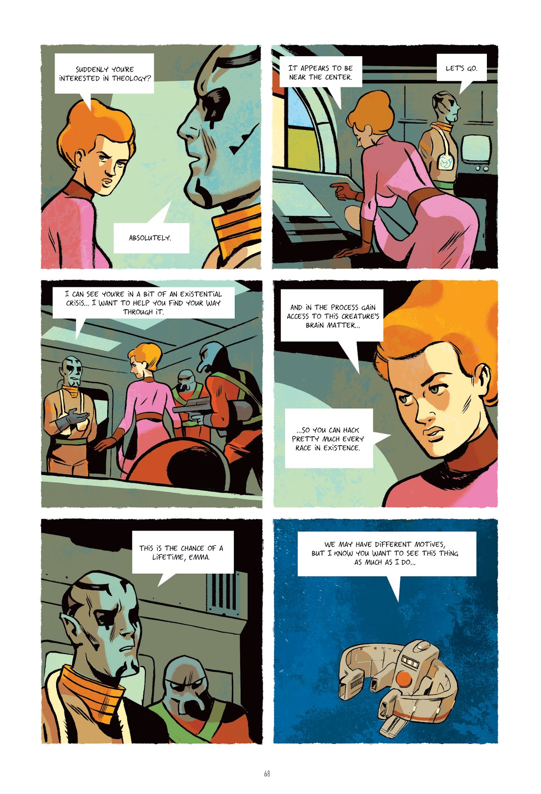 Read online Infinity 8 comic -  Issue # _TPB 3 - 68