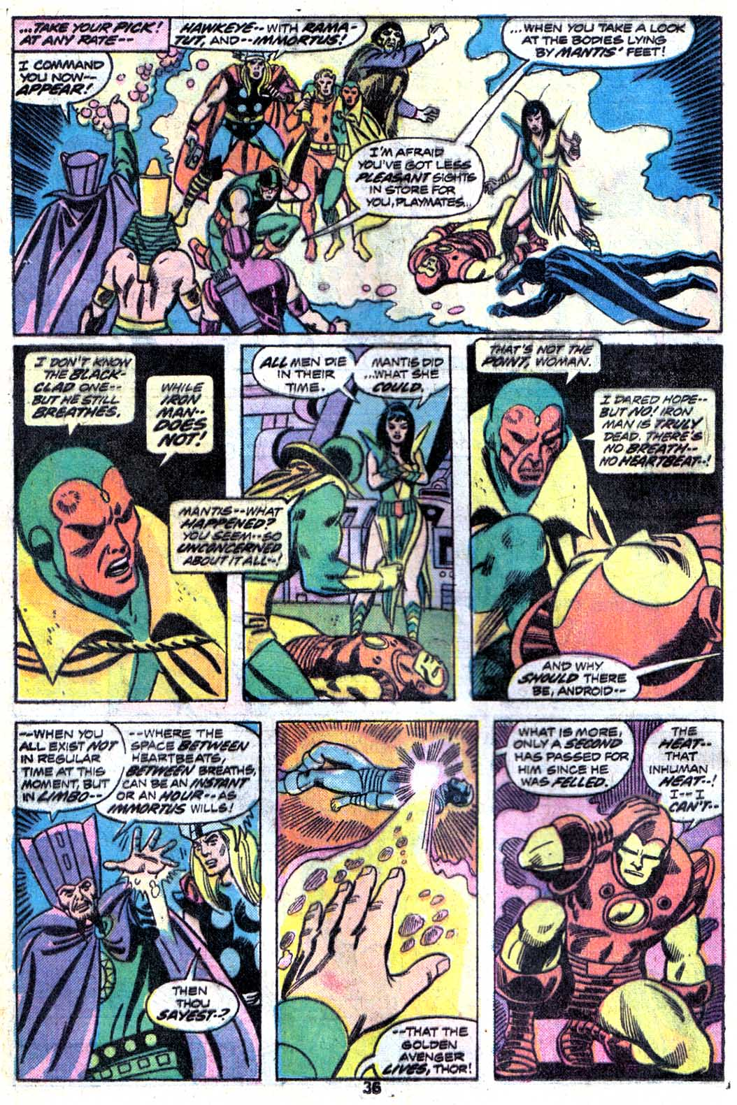 Giant-Size Avengers (1974) issue 3 - Page 38