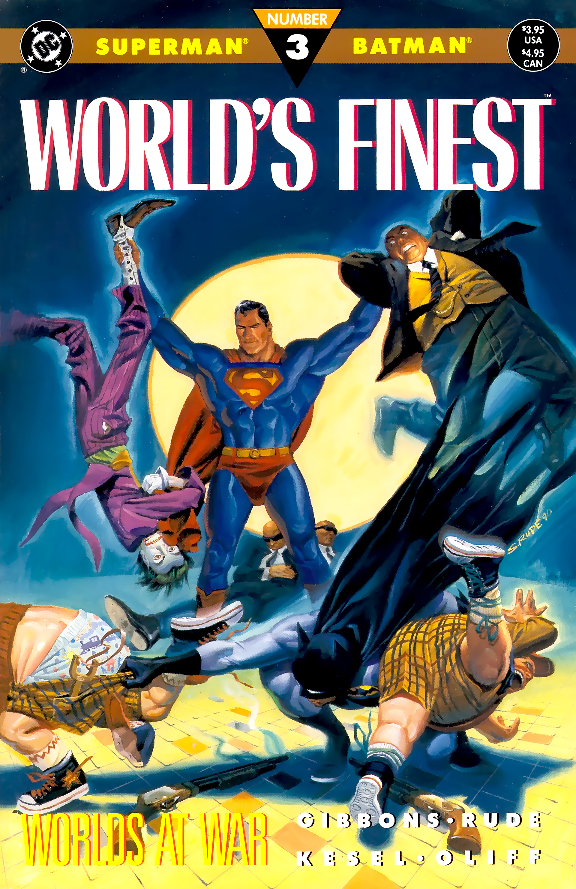 Read online World's Finest (1990) comic -  Issue #3 - 1