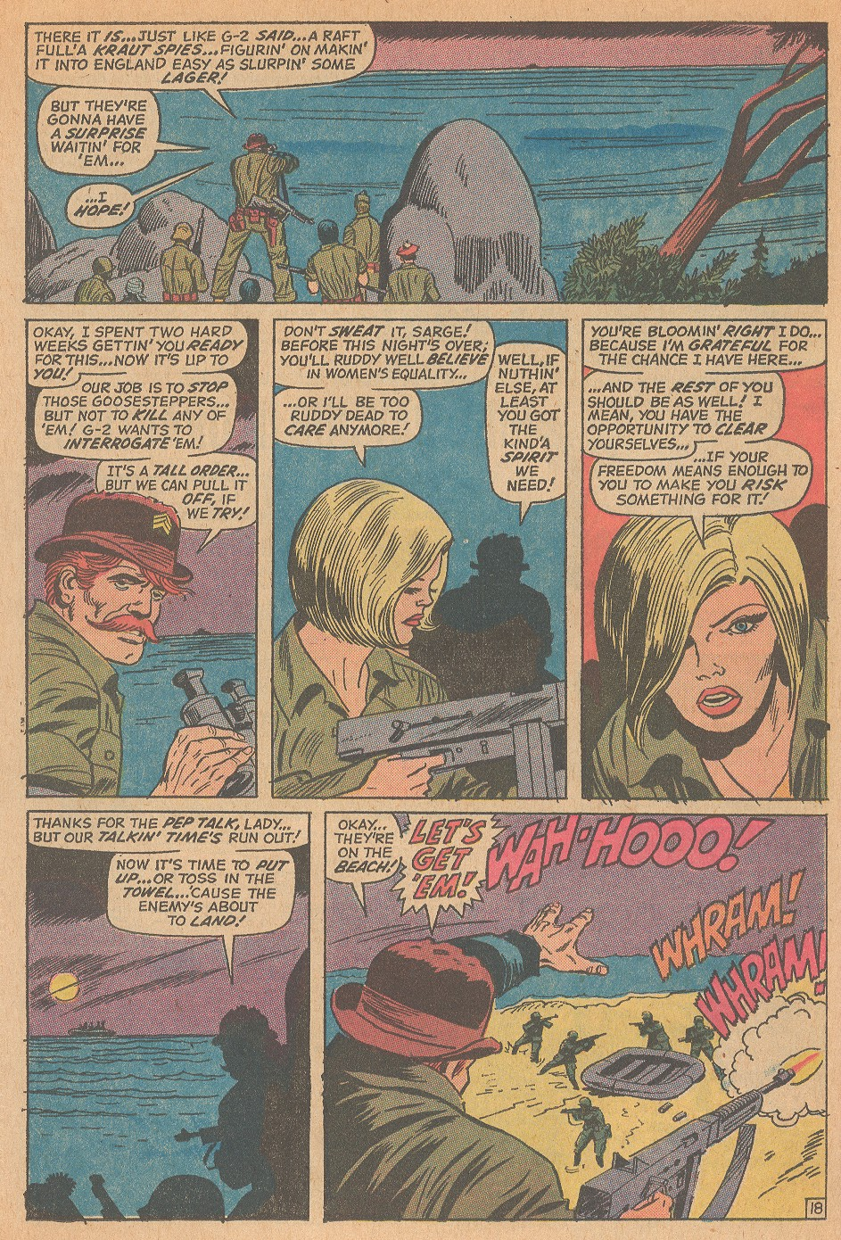 Read online Sgt. Fury comic -  Issue #98 - 26