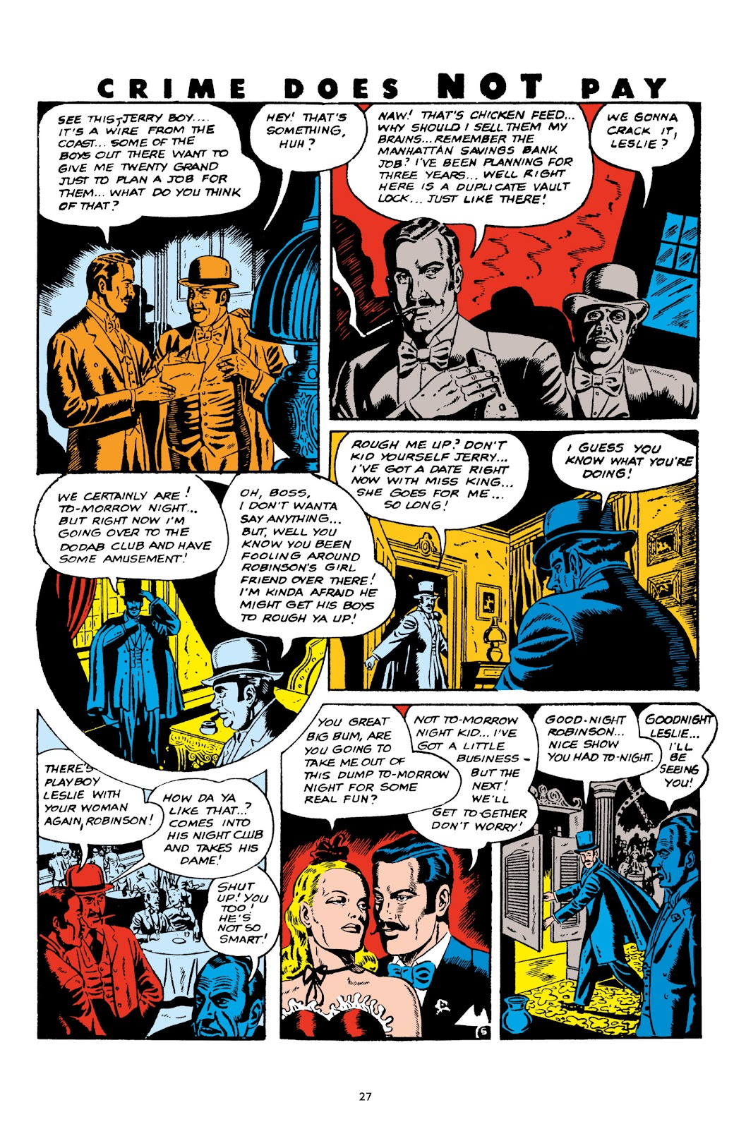 Read online Crime Does Not Pay Archives comic -  Issue # TPB 6 (Part 1) - 29