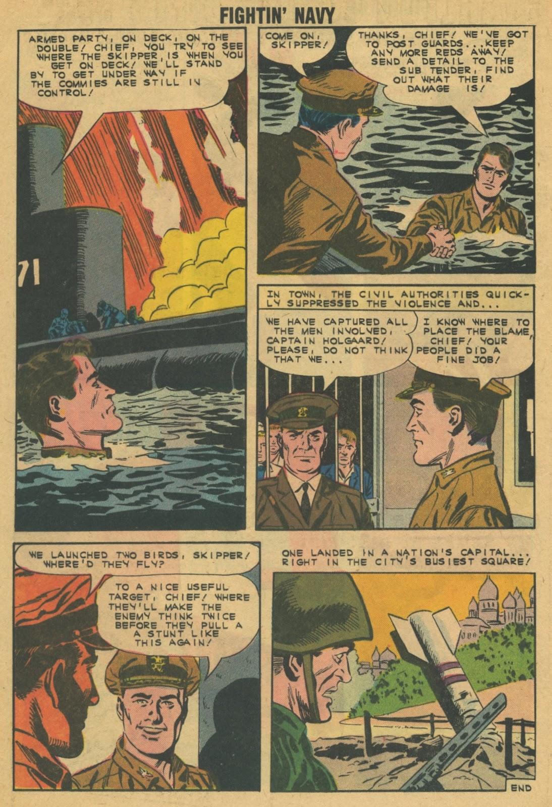 Read online Fightin' Navy comic -  Issue #103 - 20