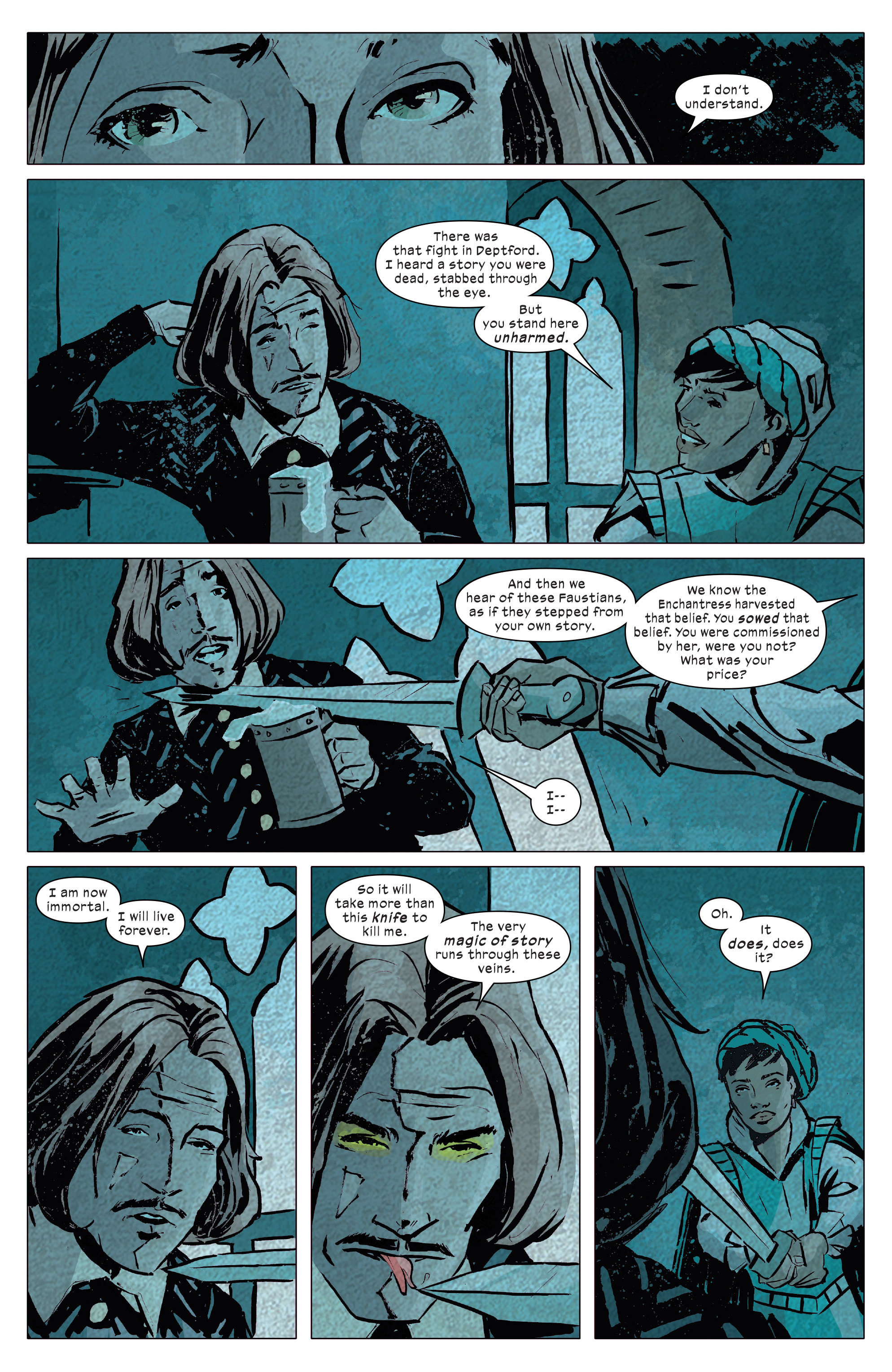Read online 1602 Witch Hunter Angela comic -  Issue #4 - 16