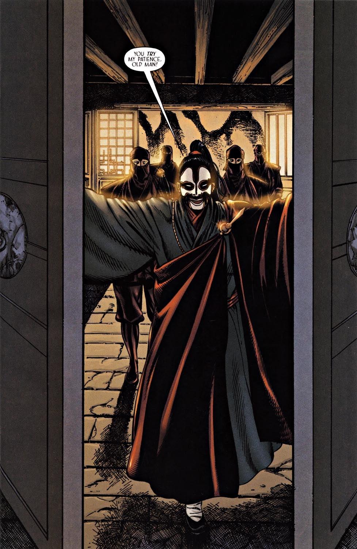 Read online Silken Ghost comic -  Issue #2 - 3