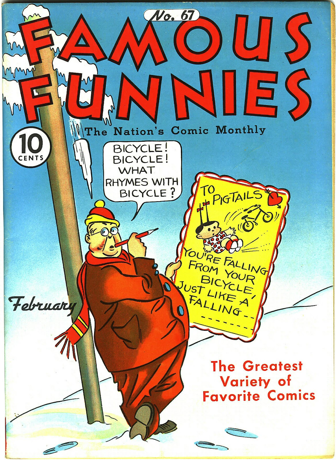 Read online Famous Funnies comic -  Issue #67 - 1