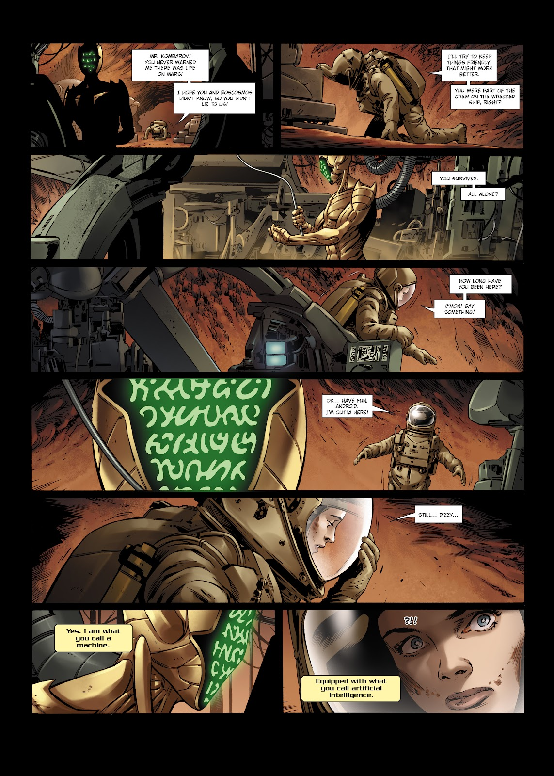 Read online Olympus Mons Vol. 1: Anomaly One comic -  Issue #5 - 12