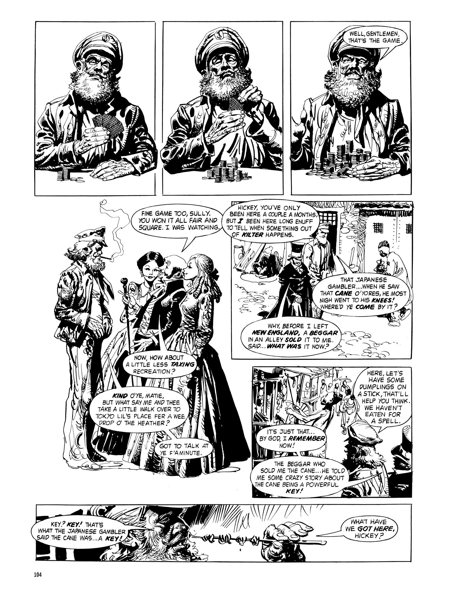 Read online Eerie Archives comic -  Issue # TPB 18 - 105