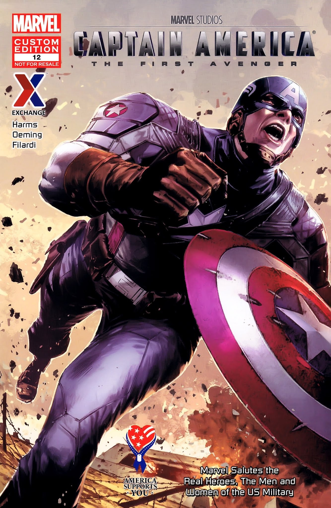 AAFES 12th Edition [Captain America: The First Avenger] Full Page 1