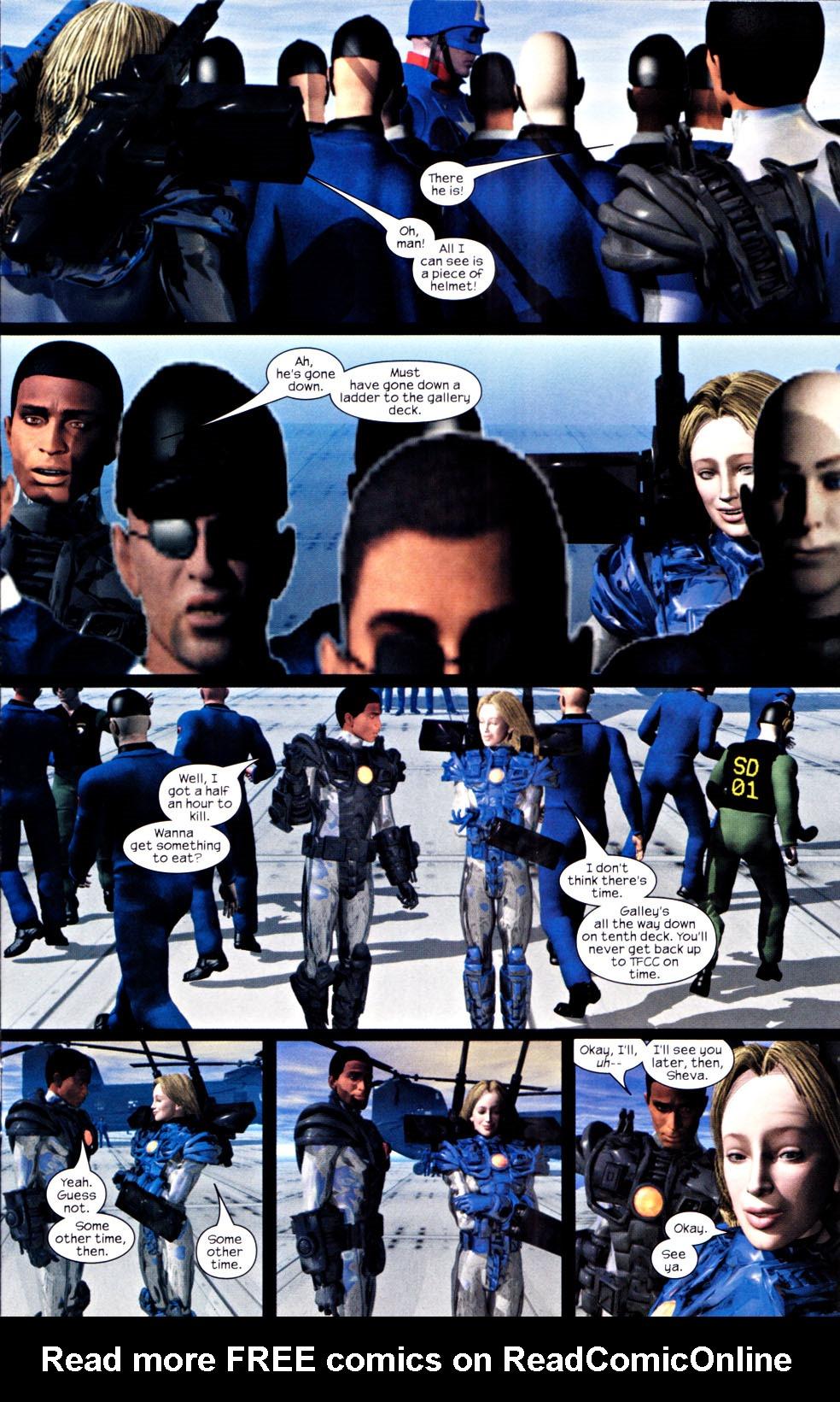 Read online U.S. War Machine 2.0 comic -  Issue #2 - 7