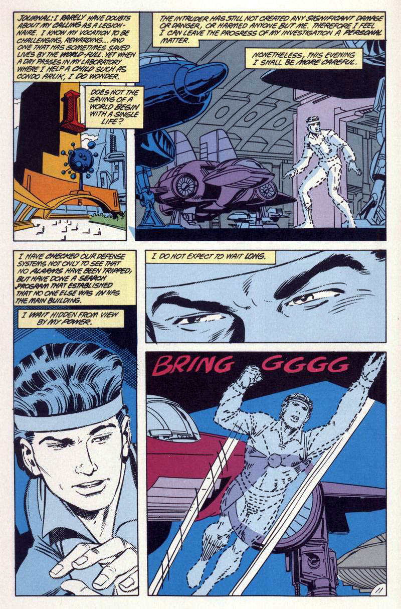 Legion of Super-Heroes (1984) 59 Page 11
