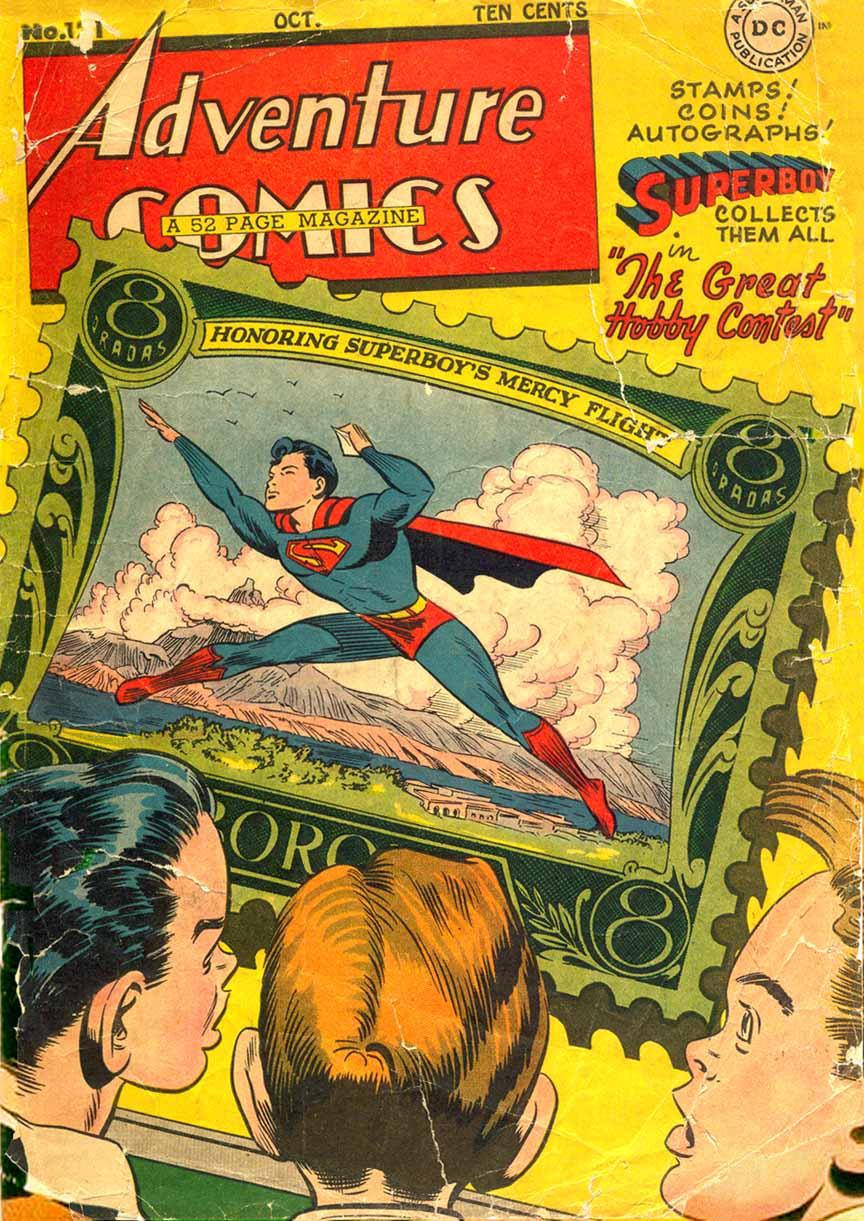 Read online Adventure Comics (1938) comic -  Issue #121 - 1