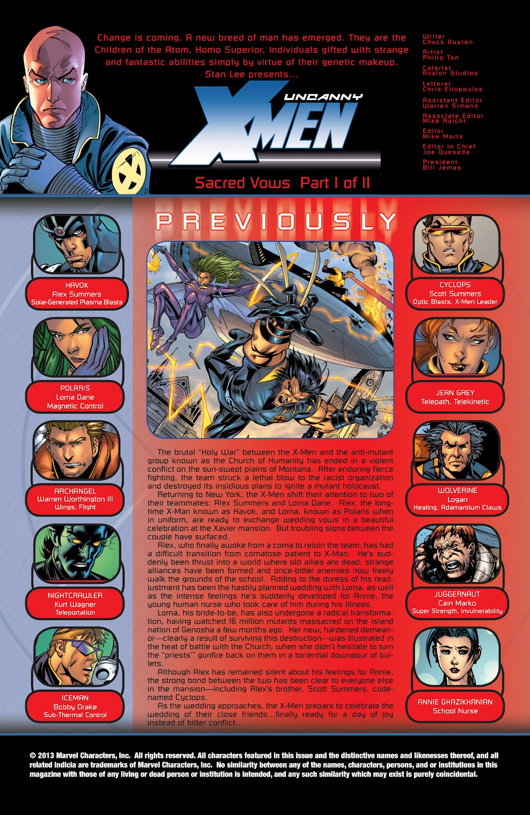 Uncanny X-Men (1963) issue 425 - Page 2