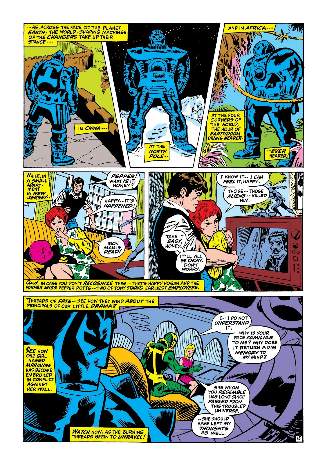 Read online Marvel Masterworks: The Invincible Iron Man comic -  Issue # TPB 7 (Part 3) - 63