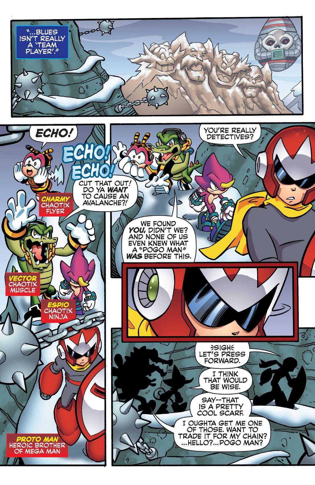 Read online Sonic Mega Man Worlds Collide comic -  Issue # Vol 2 - 78