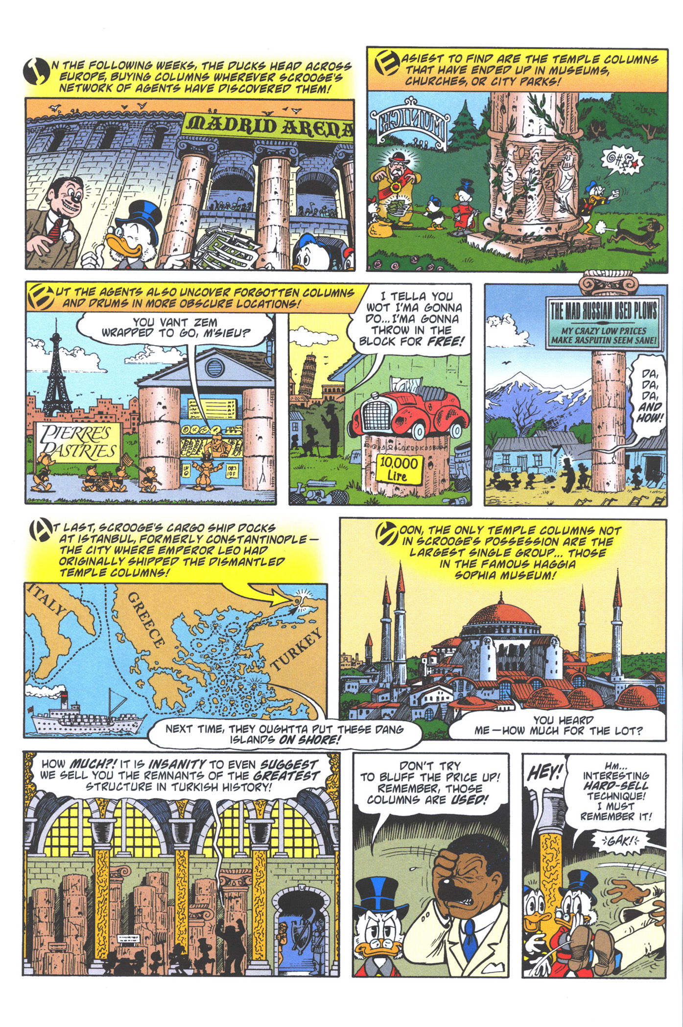 Read online Uncle Scrooge (1953) comic -  Issue #372 - 36