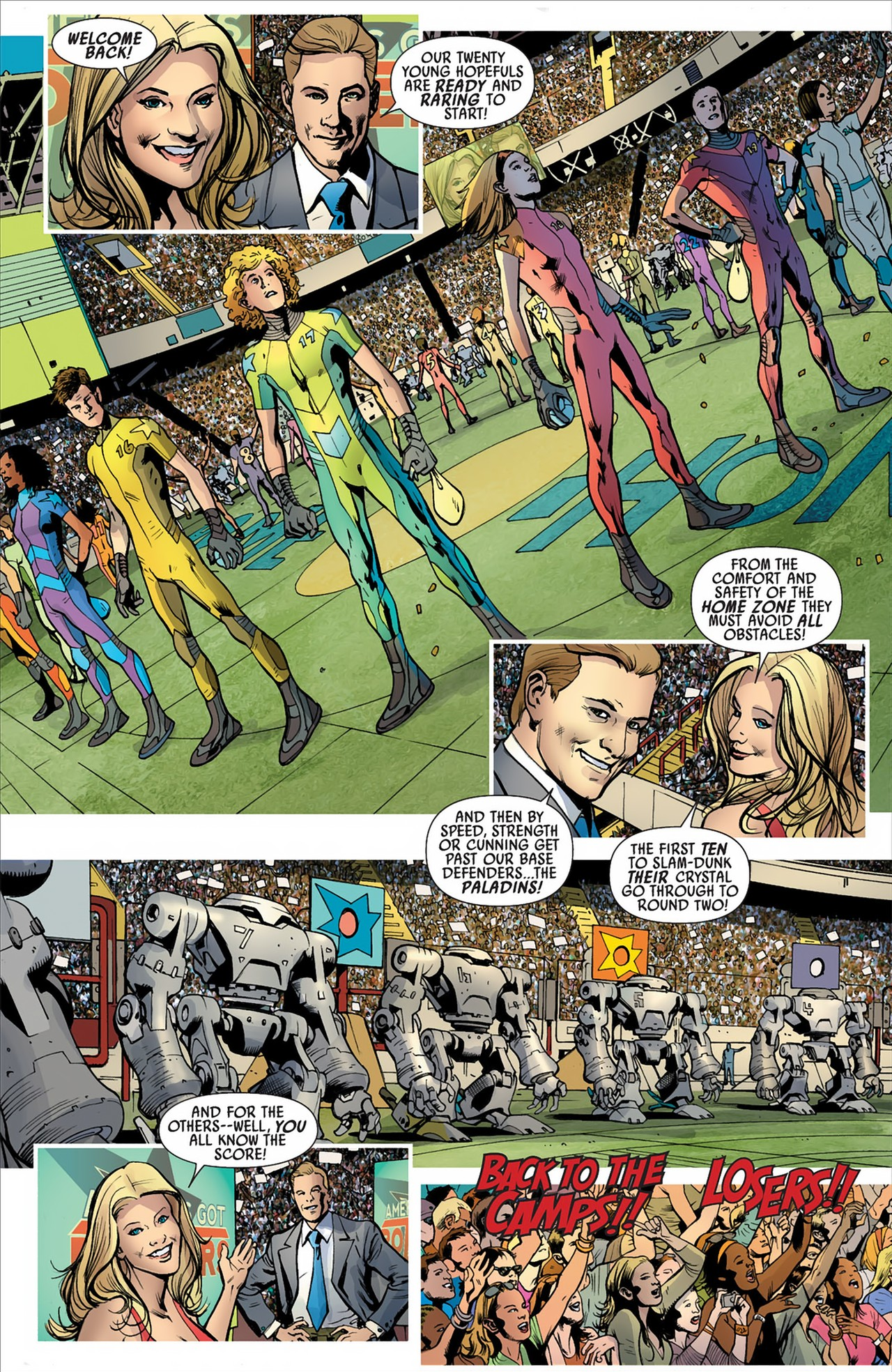 Read online America's Got Powers comic -  Issue #2 - 23